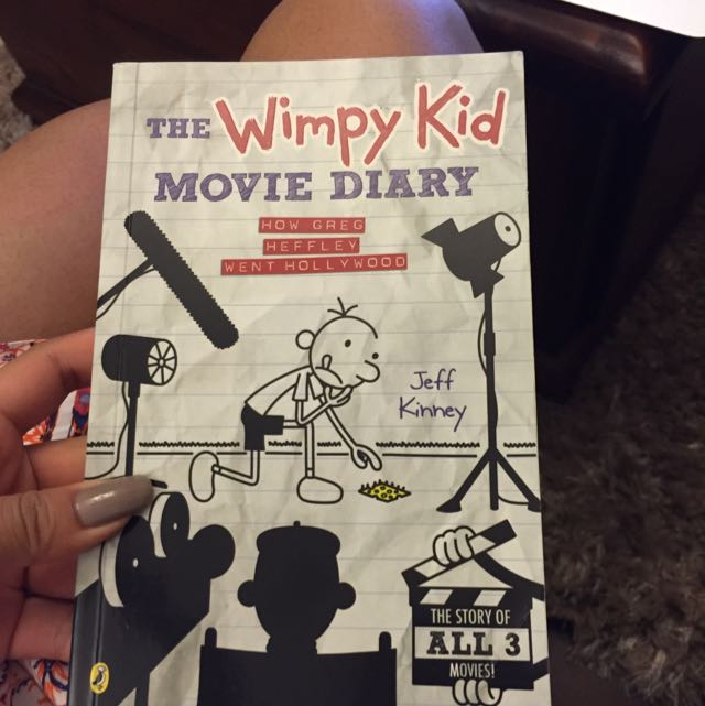 The Wimpy Kid Movie Diary book
