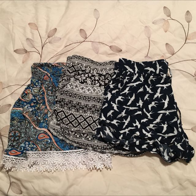 Tribal/sparrow Flimsy Shorts
