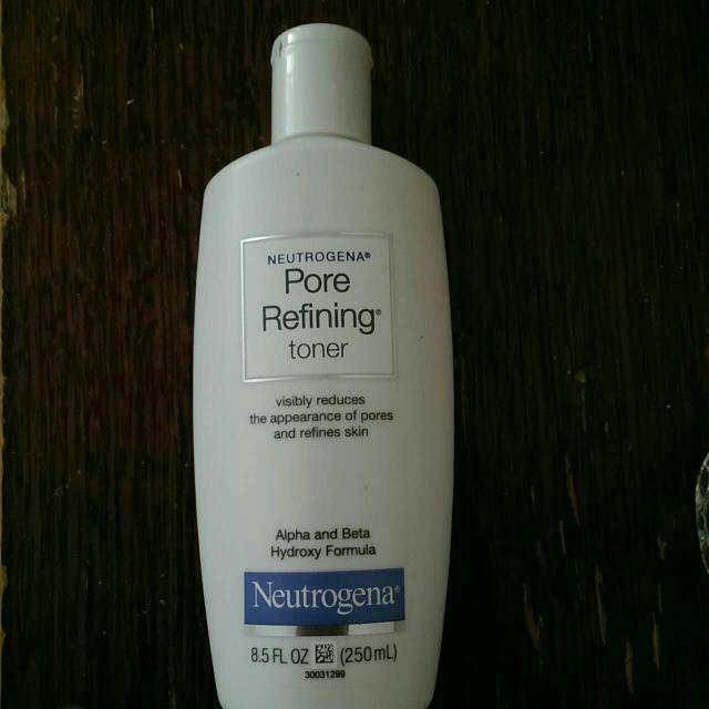 utrogena pore refining toner