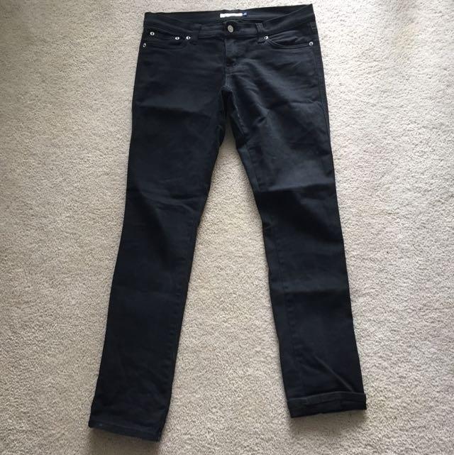 Valleygirl Black Straight leg Jeans