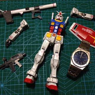 Rx-78-2 Together With RO