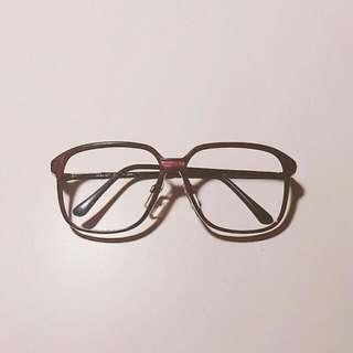 復古眼鏡 暗紅 咖啡 豹紋 #出清舊愛