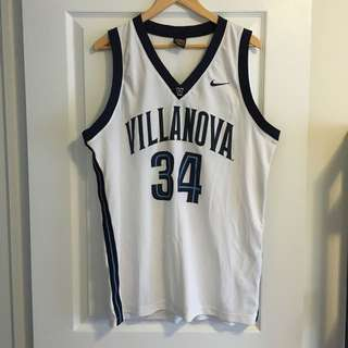 NCAA Villanova Retro Basketball Jersey