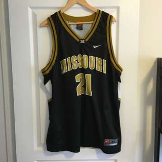 NCAA Missouri Basketball Jersey