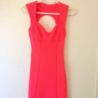 TopShop Neon Pink BodyCon Dress