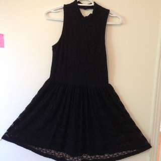 Black Lace Dress (H&M)