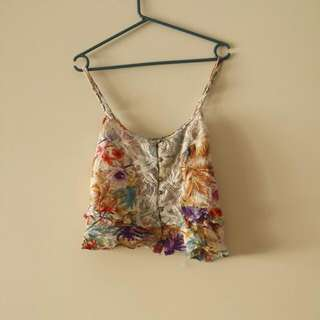 Billabong Floral Top
