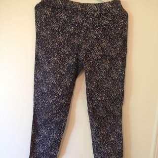 Printed pants (H&M)