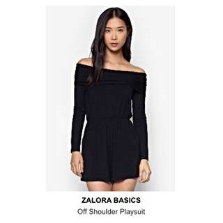 RESERVED Black Long Sleeve Romper