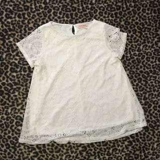 Crochet Look Dress/top