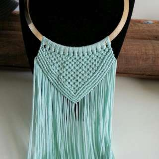 Fringed Necklace