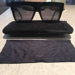 Celine zz Top Sunglasses Black