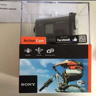 (pending) BRAND NEW Sony HDR-AS20