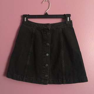 Topshop Button Up Skirt