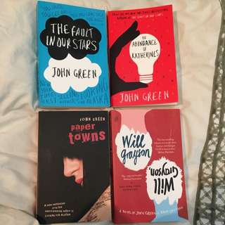 John Green book bundle