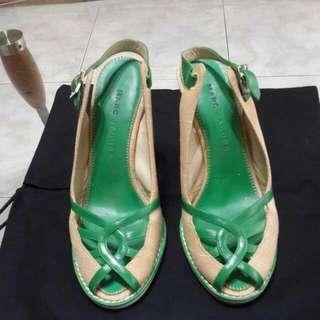 🚚 MARC JACOBS 麻布船型涼鞋~尺寸36.5