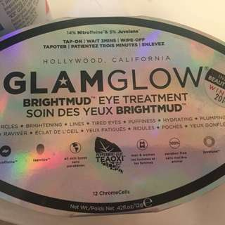 Glam Glow Bright Mud Eyemask