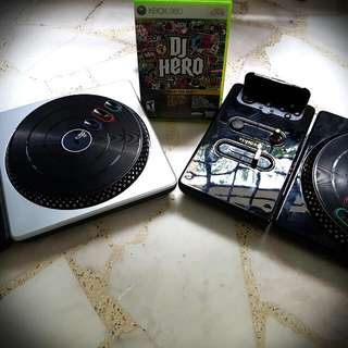 Xbox DJ Hero with Accessories