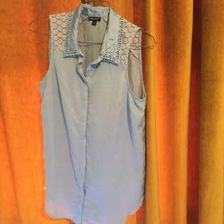 Tokito Size 10 Blue Top