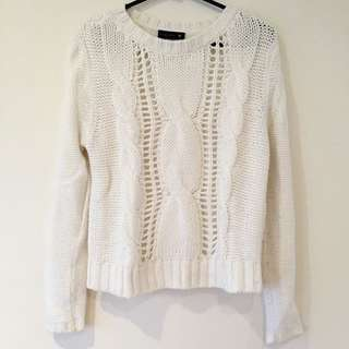 Knitted Sweater (cream)