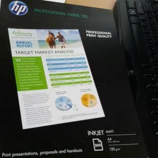 HP Professional Paper 120