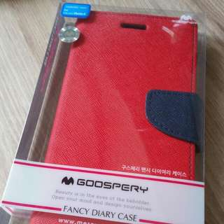 Goospery Samsung Note 4 Diary Case Cover