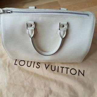 Authentic Louis Vuitton Epi Speedy 25
