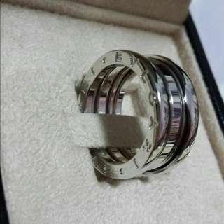 Bvlgari B.Zero1 White Gold Triple Band Ring