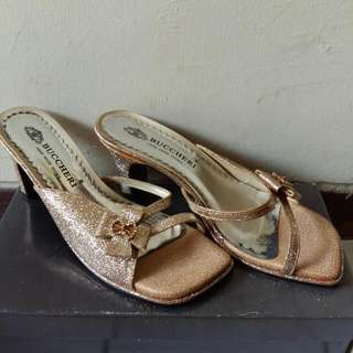 Buccheri Gold Shoes