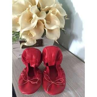 韓國 折疊 平底 娃娃鞋