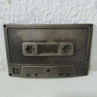 Cassette tape Metal Belt Buckle