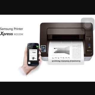 [Brand New Sealed] Samsung Printer M2020W NFC Wireless