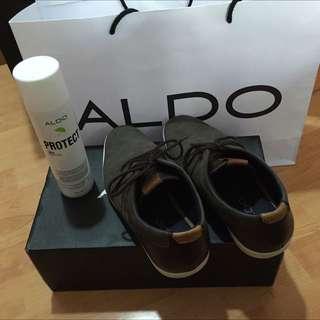 Aldo Mens Suede Shoes (Garinus Model) + Suede Spray Protector