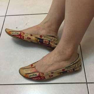 個性平底鞋