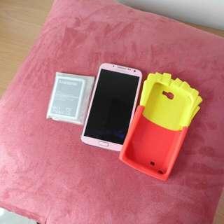 Samsung Note2 粉色16G