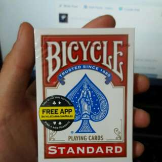 Brand New Bicycle Cards