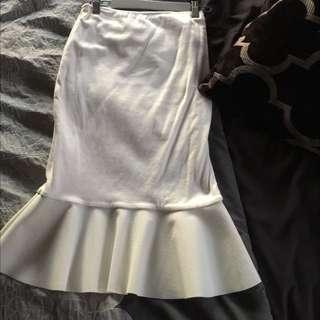 Kookai White Skirt