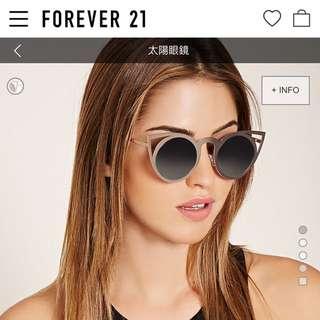收購 Forever21 貓耳太陽眼鏡 墨鏡