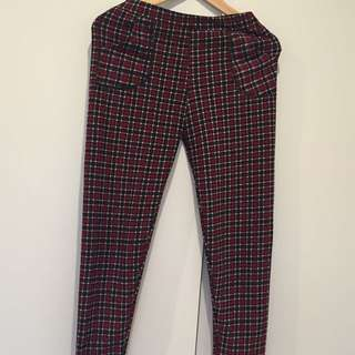 Checkered Pants For Women