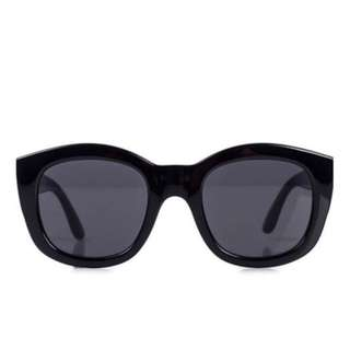 Le Specs Runaways Black Sunglasses
