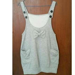 Ribbon Mini Dress