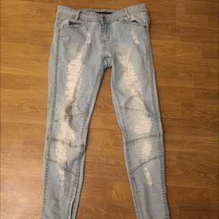 Lee 'Lick' Ripped Jeans