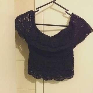 Size 6 MCL Lace Crop