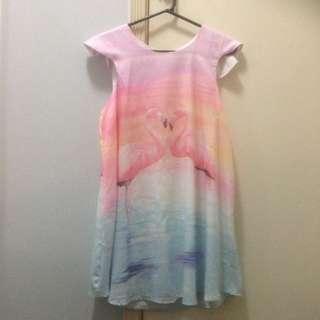Print Dress - Size 10