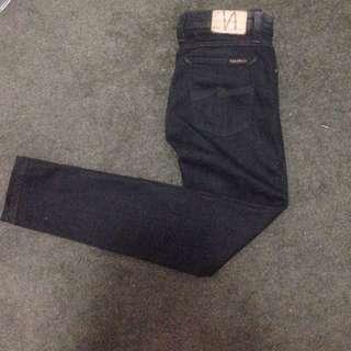 *NUDIE* Brand - Blue Skinny Jeans - Size 27