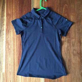 Nike Black Polo Size Medium
