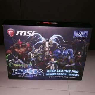 """MSI Limited Heroes of The Storm Special Edition box for 15"""" Gaming Laptop. (Box ONLY) - $10 (For Sale until July 28)"""