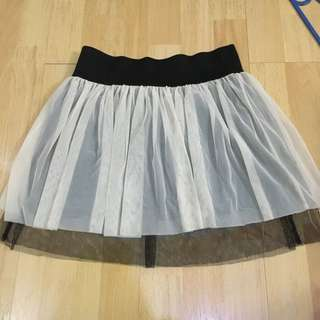 Zara Trf Party Skirt