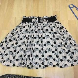 Zara Trf Ribbon Skirt
