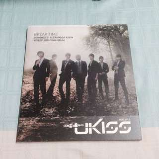 UKISS Mini No4 Break Time Album